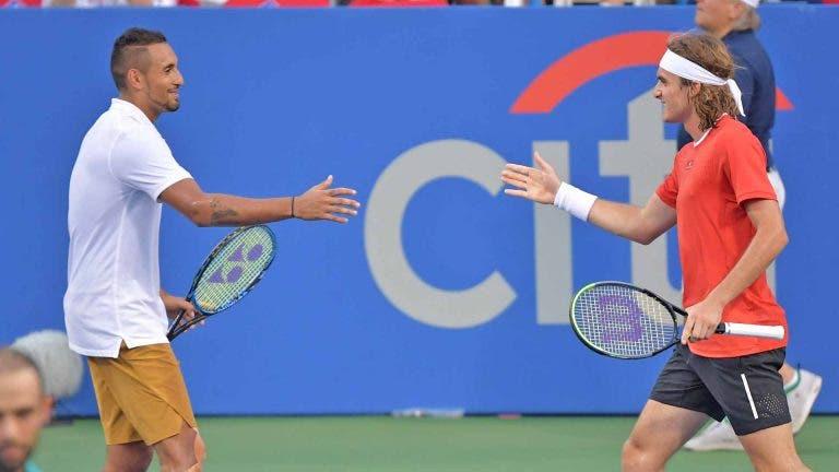 Bublik e o Kyrgios-Tsitsipas: «É bom que o Stefanos leve 10 pares de ténis»