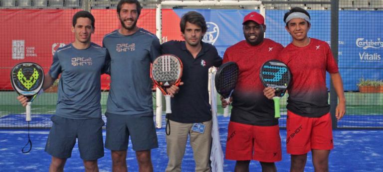 Portugueses ajudam Europa a manter-se na luta na EuroAmerica Padel Cup
