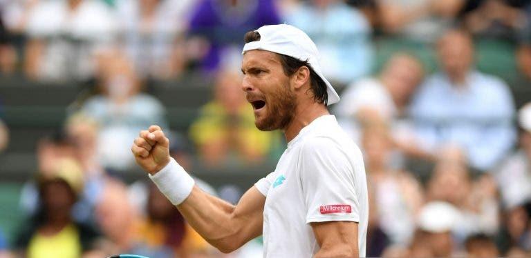 João Sousa já tem hora para o duelo com Seppi em Wimbledon na segunda-feira
