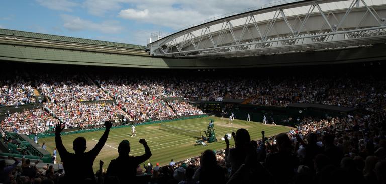 Wimbledon distribui milhões por jogadores e árbitros que iam jogar e trabalhar na prova