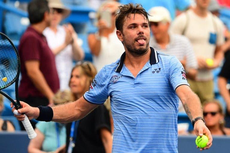 Wawrinka: «Se existe ténis é graças a todos e não apenas aos tenistas de topo»