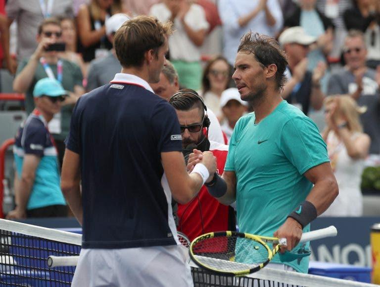 A curiosa estatística que dá esperanças a Medvedev no US Open