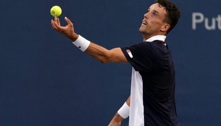 Bautista-Agut: «Fiquei chateado depois de perder com Djokovic»