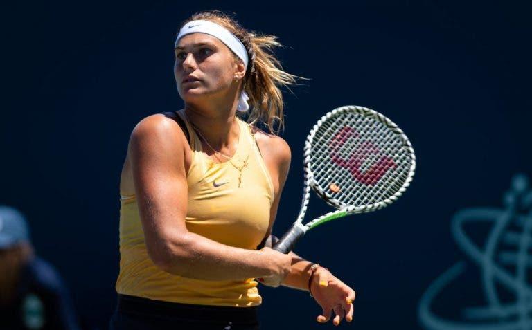 Sabalenka elogia Gauff: «Gostava de ter jogado como ela aos 16 anos»