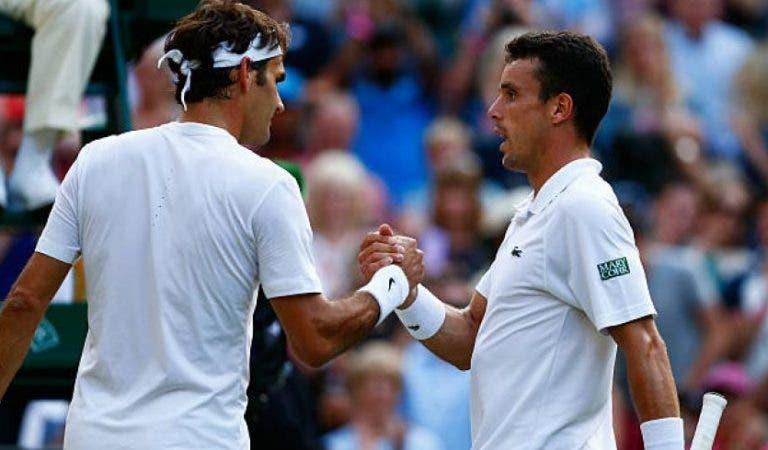 Bautista Agut: «Federer disse em Halle que eu ia chegar às meias-finais em Wimbledon»