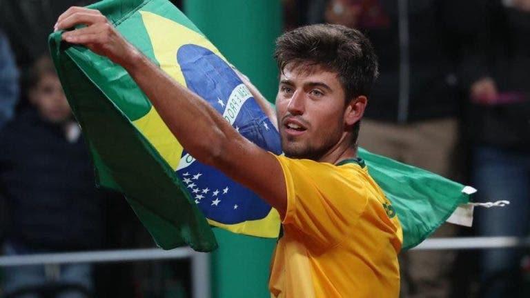 João Menezes diz que jogou o melhor encontro da carreira contra Cilic