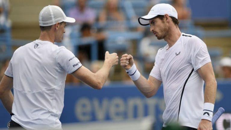 Andy Murray fecha a porta a jogar com o irmão nos Jogos Olímpicos e explica porquê