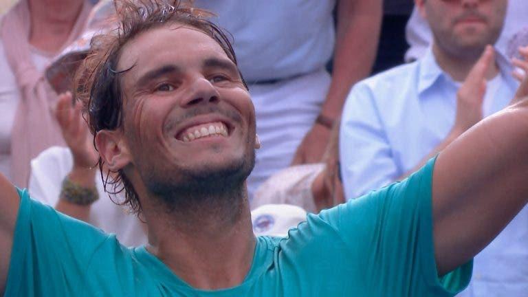 [VÍDEO] O ponto que deu a Nadal o seu 35.º título Masters 1000
