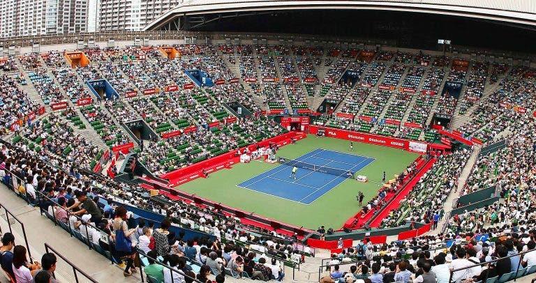 Mais más notícias: ATP 500 de Tóquio cancelado devido à Covid-19