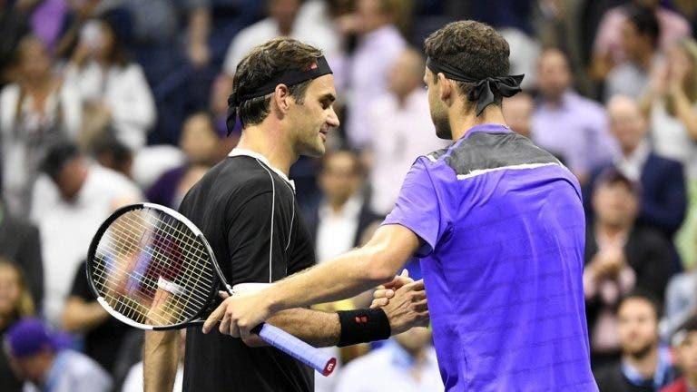 Dimitrov revela que a vitória que mais gozo lhe deu em toda a carreira foi contra Federer