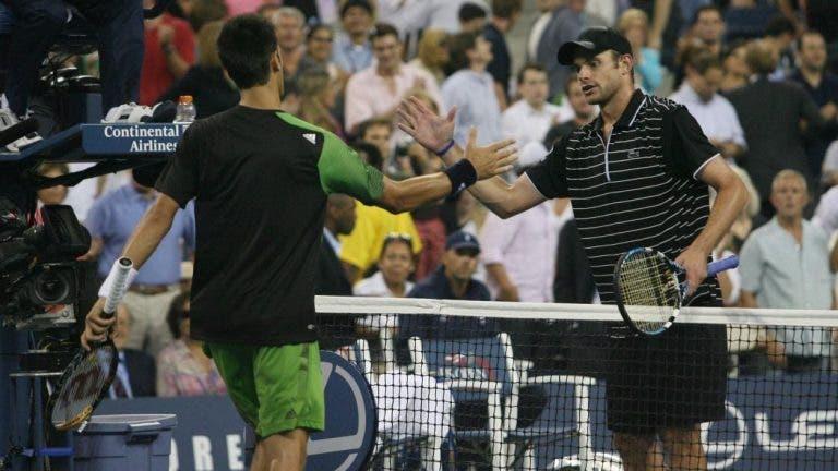 Roddick rendido a Djokovic: «É como um pugilista que te deixa sempre KO»