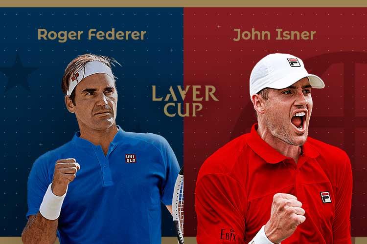 Laver Cup 2019: siga Roger Federer vs John Isner no nosso live center