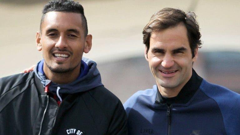 Kyrgios sem dúvidas: «Federer faz-nos sentir que não sabemos jogar!»