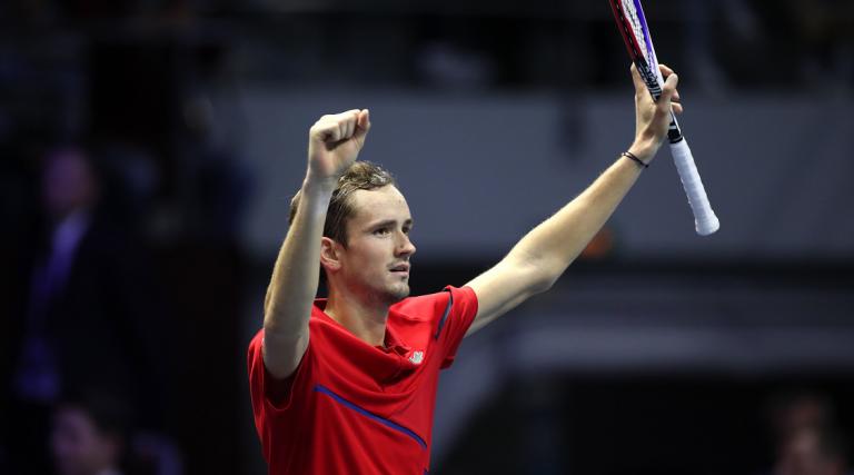 Medvedev faz o que só outros três tenistas (não Big Four) conseguiram desde 2004