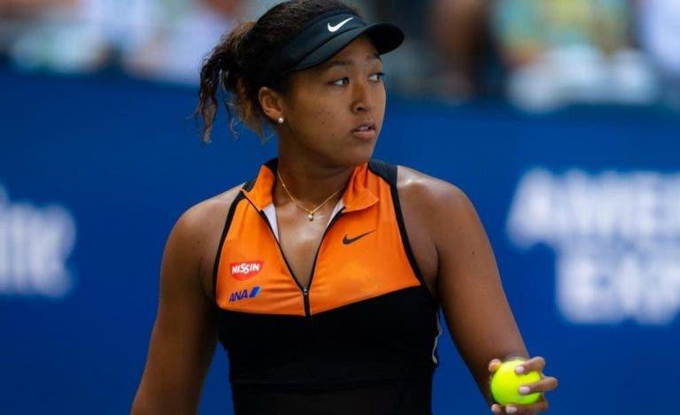 Naomi Osaka lesiona-se e desiste das WTA Finals
