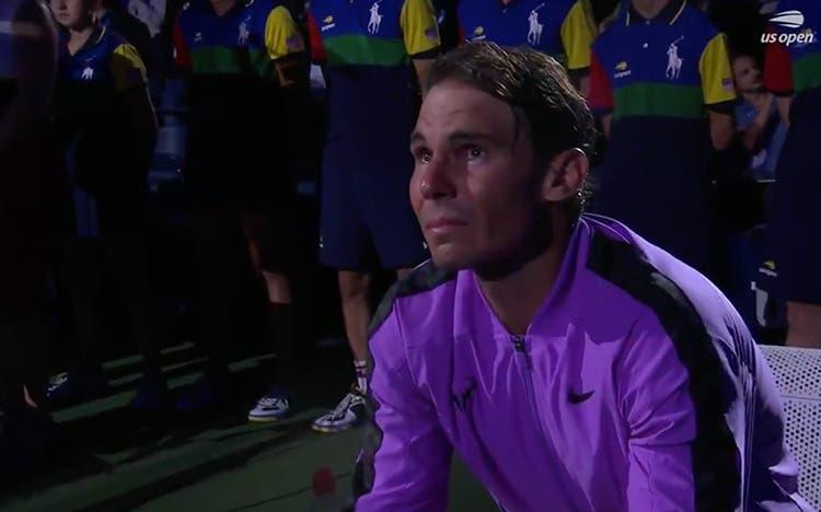 [VÍDEO] Nadal desfez-se em lágrimas após final do US Open