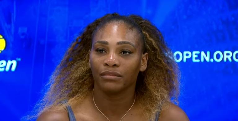 Serena Williams: «A Serena não apareceu hoje em court»