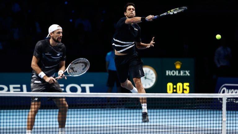Melo e Kubot apuram-se para as meias-finais das ATP Finals