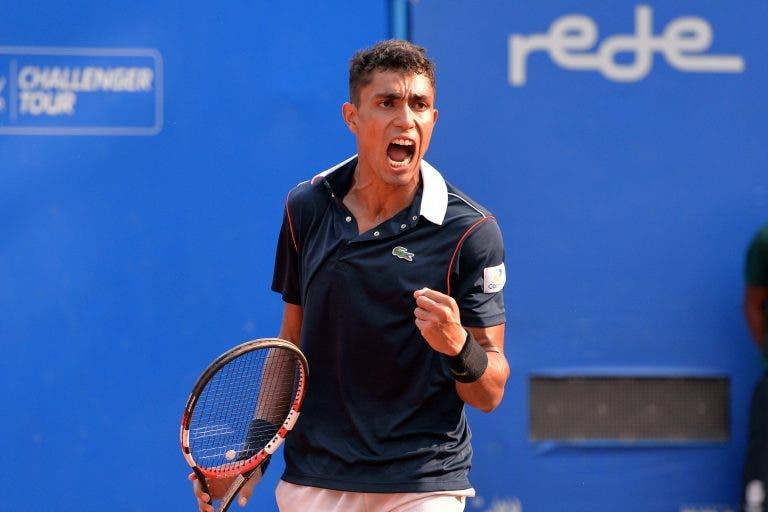 Thiago Monteiro entra a ganhar no Masters de Cincinnati