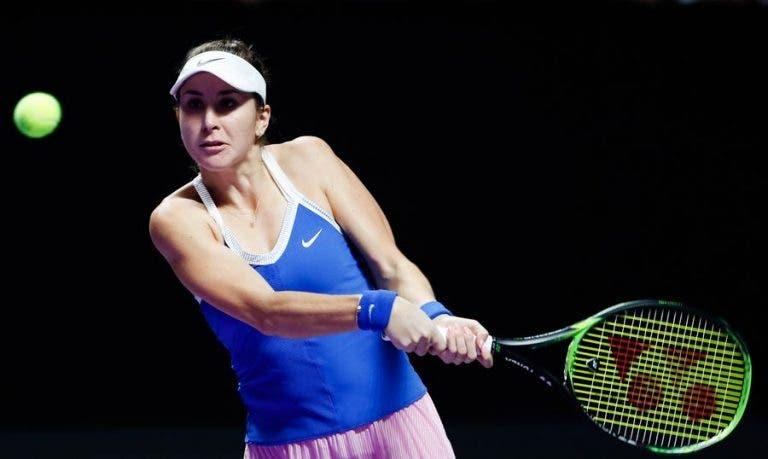 Bencic derrota Kvitova, conquista 1.ª vitória da carreira nas WTA Finals e mantém-se na luta pelas meias-finais