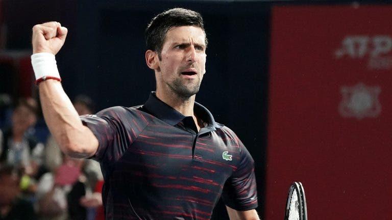 Djokovic satisfeito com o nível apresentado: «O meu jogo está a seguir na direção correta»
