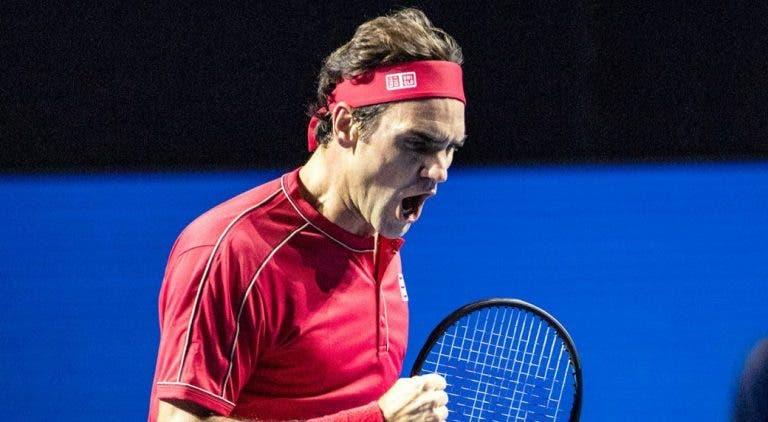 Federer sobre a 15.ª final em Basileia: «Antes do torneio achava que ia perder antes da final»