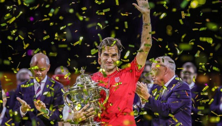 Federer explica o porquê de se ter emocionado após a conquista do 10.º título em Basileia
