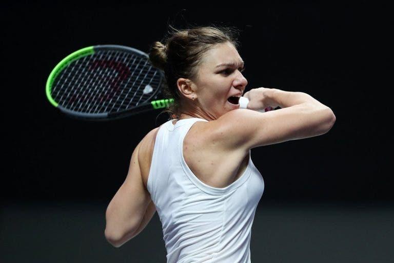 Halep salva match point frente a Andreescu e vence duelo incrível nas WTA Finals