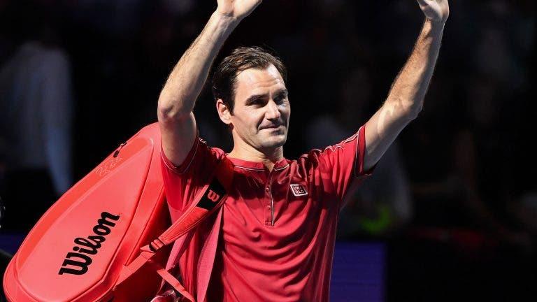 Federer: «Temporada quase a acabar? Problema é estar no final da minha carreira»