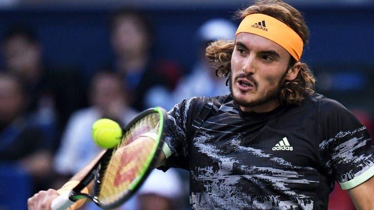 Tsitsipas: «Nadal, Djokovic e Federer inspiram-me. Tornam-me num melhor jogador»
