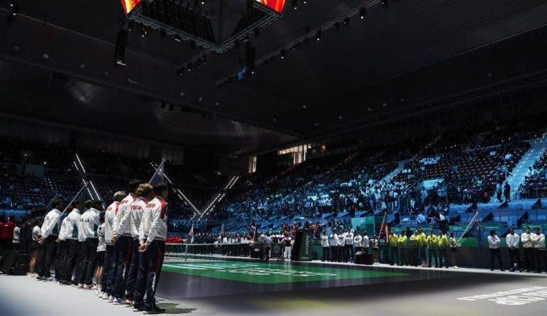 Eis as eliminatórias para a fase de qualificação das Davis Cup Finals