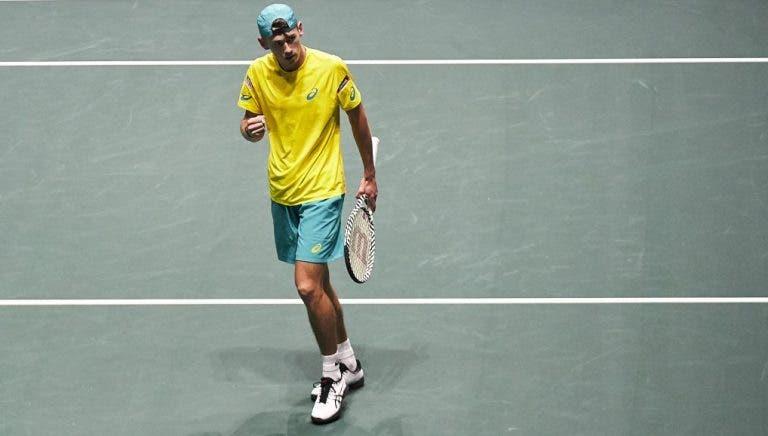 De Minaur: «Vamos dar tudo para vencer a ATP Cup»