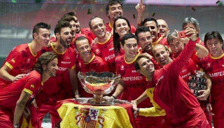 Taça Davis muda de 'formato' outra vez e já em 2021