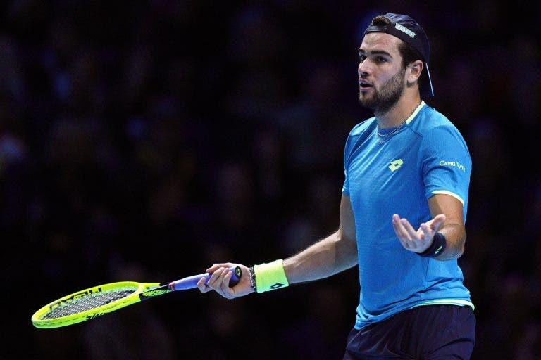 Berrettini: «A decisão do US Open deve determinar o futuro»