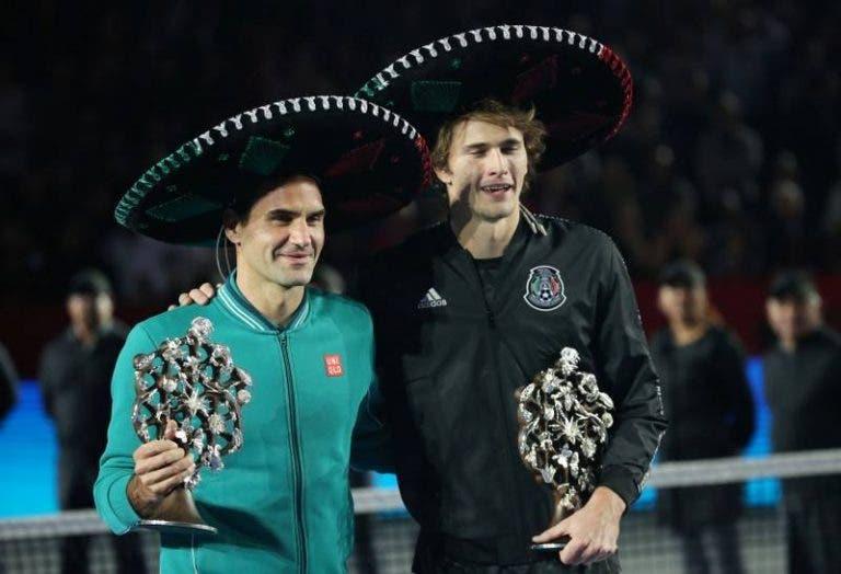 Alexander Zverev vai ultrapassar Roger Federer depois do Miami Open