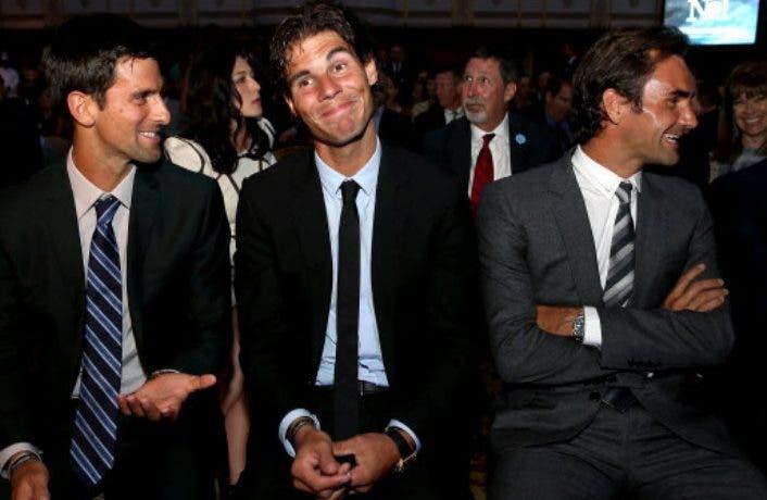 E se Djokovic, Federer e Nadal jogassem… na NBA?