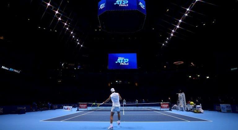 Muitas mudanças nas ATP Finals: menos dinheiro, hotel em frente à O2 Arena e não há juízes de linha