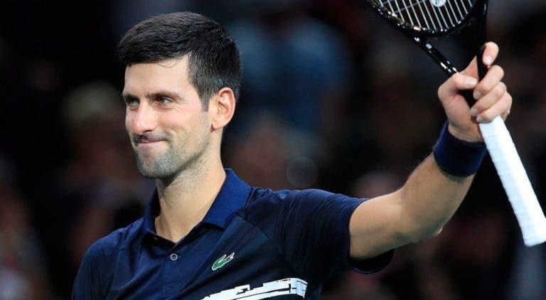 Djokovic e a paixão pelo ténis: «Adoro treinar, estar no circuito e lutar pelo número 1 do mundo»