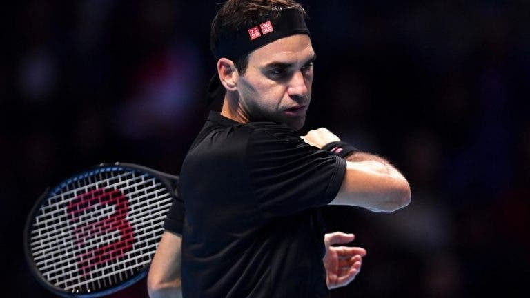 Federer: «NextGen? Vejo quem acaba o ano como número 1 e é sempre alguém do Big 3»