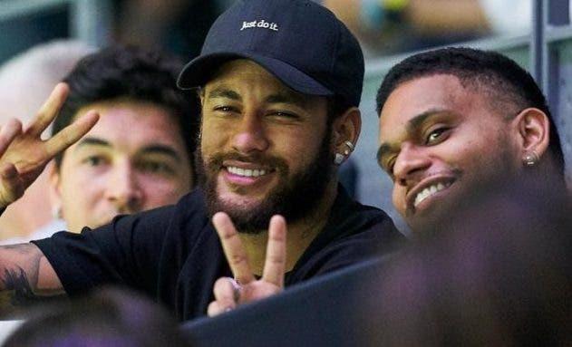 [FOTOS] Neymar foi convidado especial de Piqué para o encontro de Nadal na Taça Davis