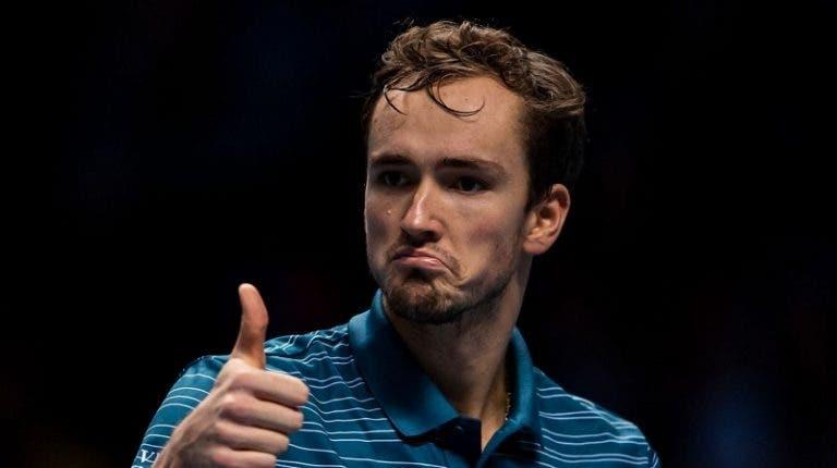 Rússia é a terceira equipa nos 'quartos' da ATP Cup