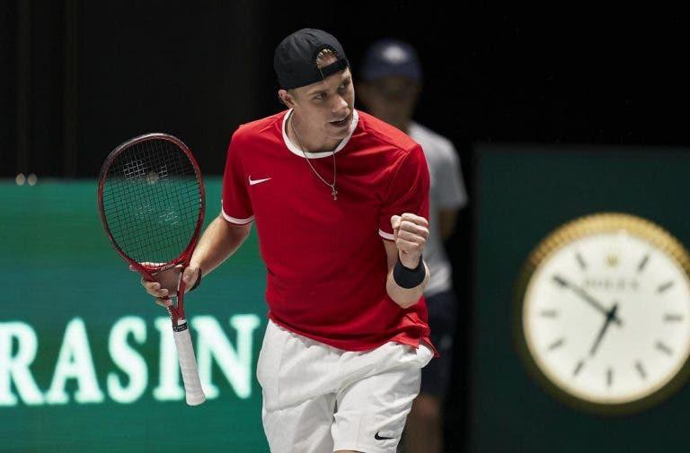Davis Cup Finals: resultados e classificações do dia 1