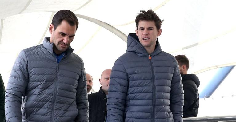 Thiem feliz com regresso de Federer: «Sou um grande fã dele, espero que volte forte»
