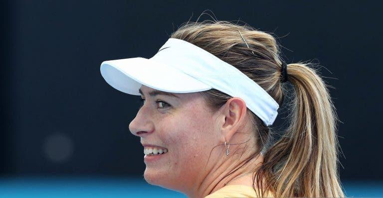 Sharapova fecha a porta a regresso no futuro: «Não vou voltar a jogar ténis»
