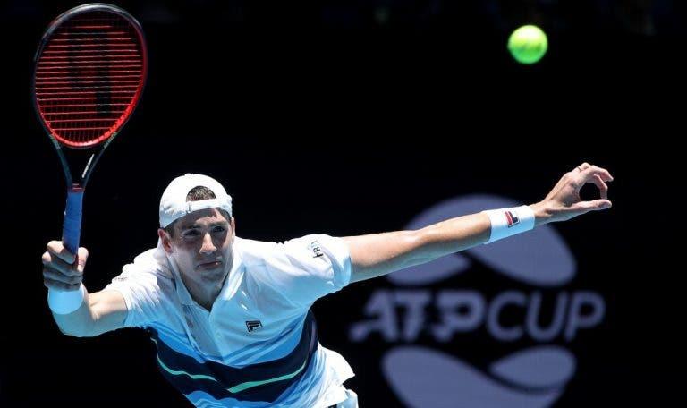 Isner surpreende e diz que não vai ao Australian Open por não querer viajar sozinho