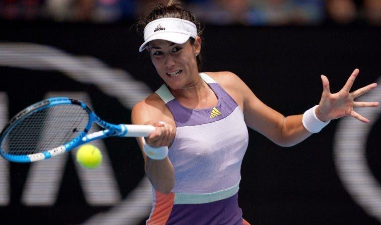 Muguruza e a final do Australian Open: «O objetivo passa por sair daqui com o troféu»