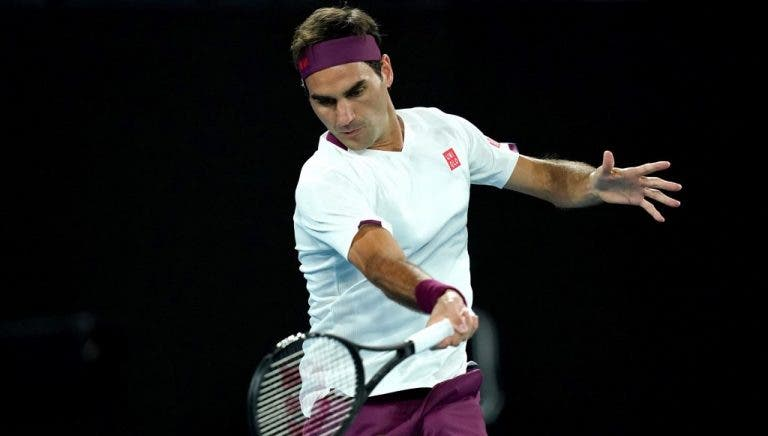 Lenda suíça aponta data para regresso de Federer à competição