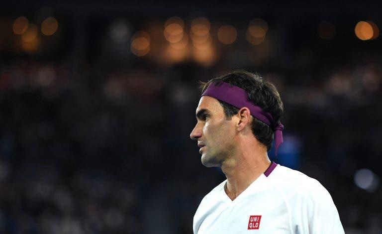 Preparador físico de Federer avisa: «Os músculos dele não são os mesmos»