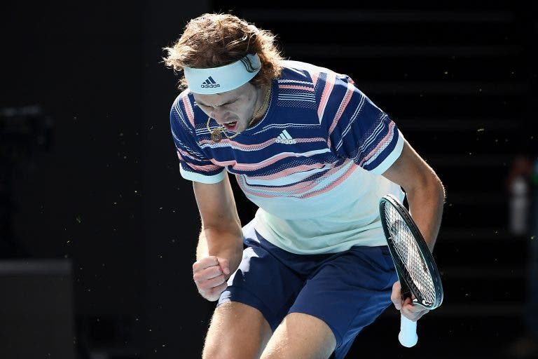 Zverev: «Estou feliz por demonstrar que posso jogar bem em torneios do Grand Slam»
