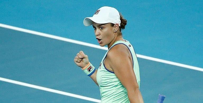 Aqui estão as cabeças-de-séries femininas do Australian Open